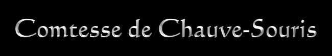 Aufnahme in den Kreis der Novizen - Comtesse de Chauve-Souris Comtesse