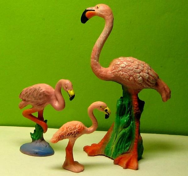 Susanne's Bullyland additions Flamingoer