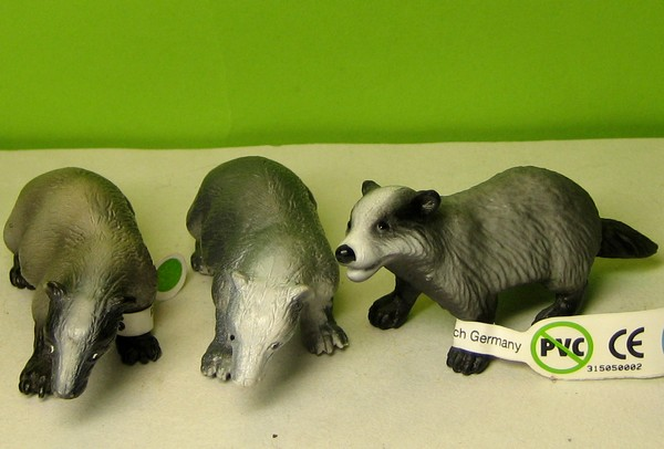 Susanne's Bullyland additions Abadgers
