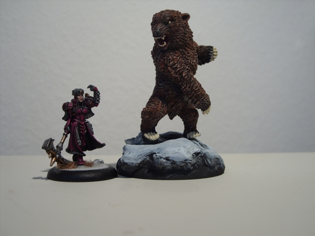 kislev - WIP Kislev SerialMoMs trained bear SDC14368