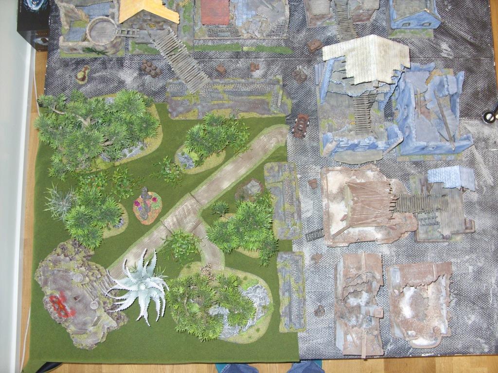 Three way Mordheim battle: A stroll in the park SDC18329