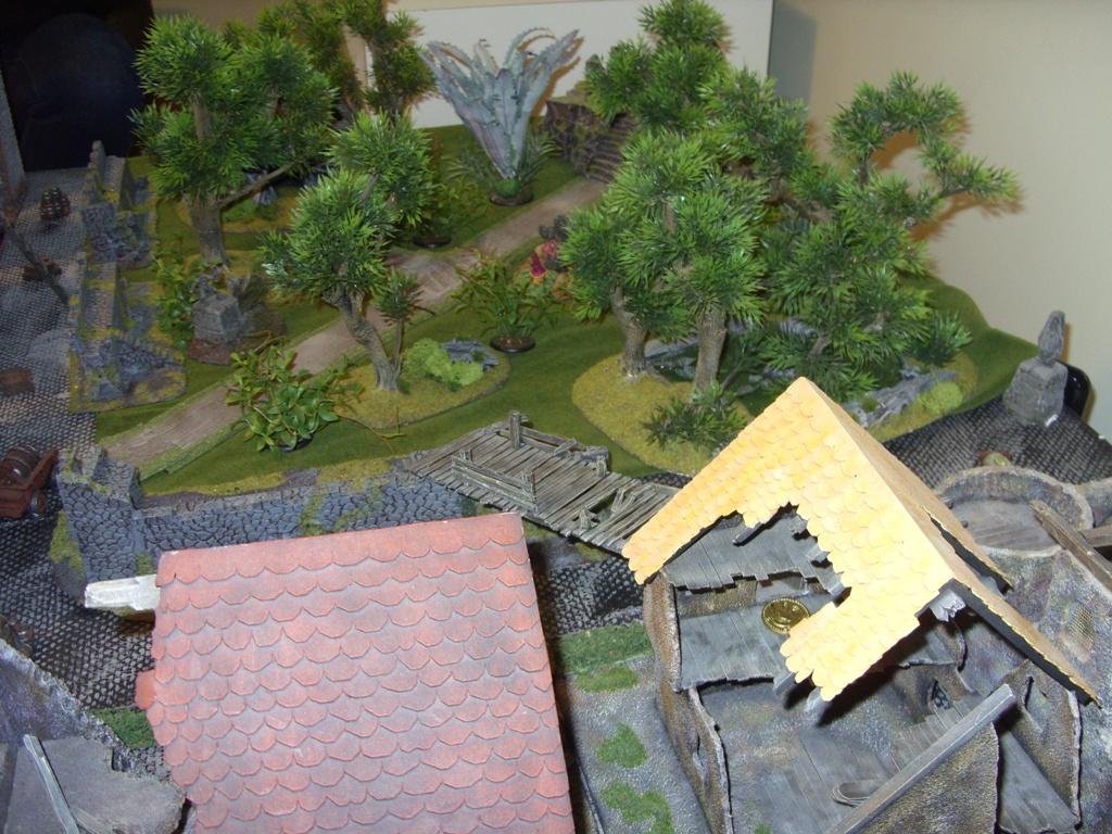 Three way Mordheim battle: A stroll in the park SDC18331