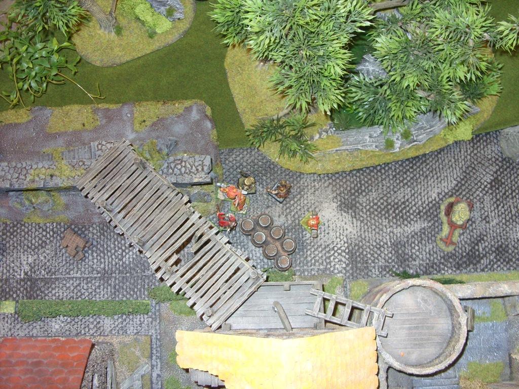 Three way Mordheim battle: A stroll in the park SDC18333