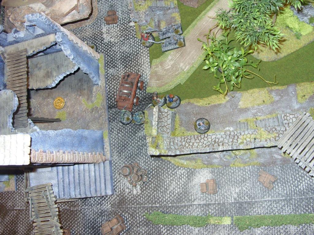 Three way Mordheim battle: A stroll in the park SDC18334