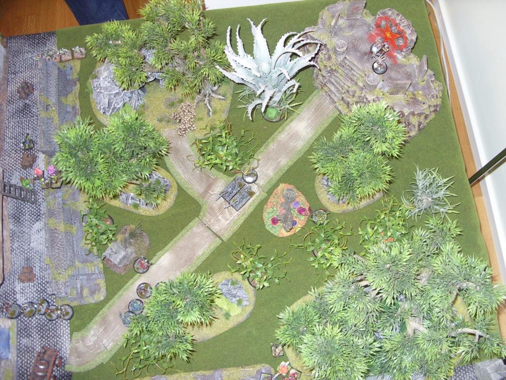 Three way Mordheim battle: A stroll in the park SDC18338