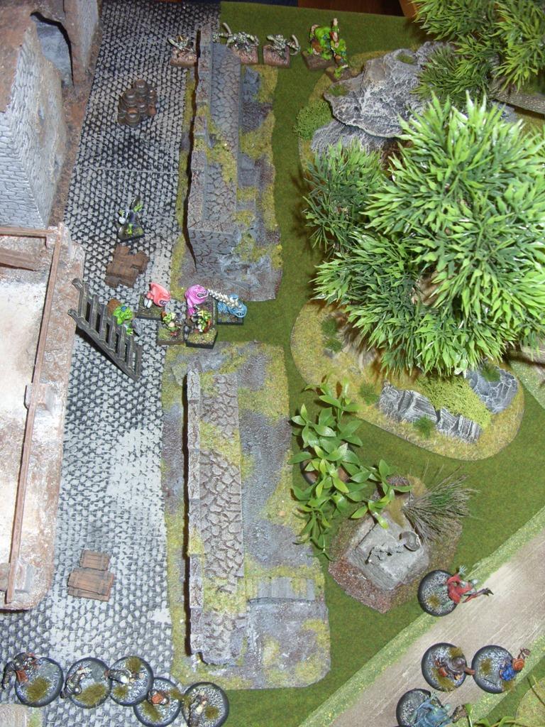 Three way Mordheim battle: A stroll in the park SDC18340