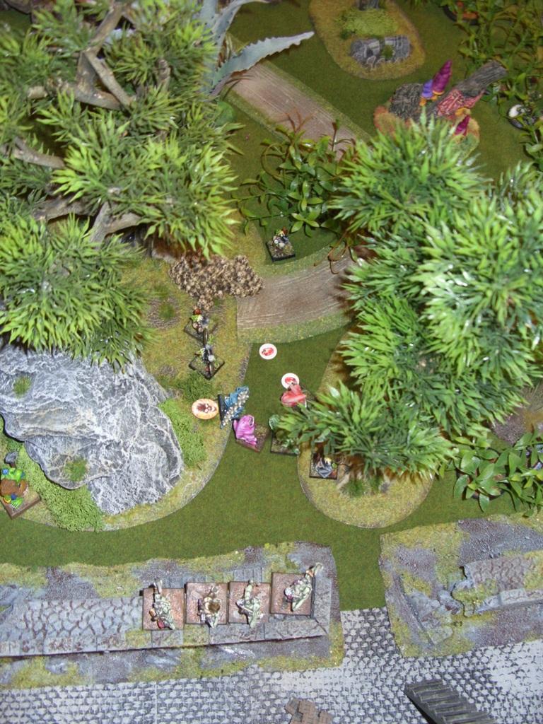 Three way Mordheim battle: A stroll in the park SDC18345