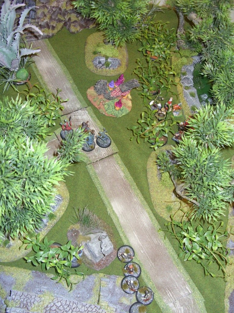 Three way Mordheim battle: A stroll in the park SDC18346