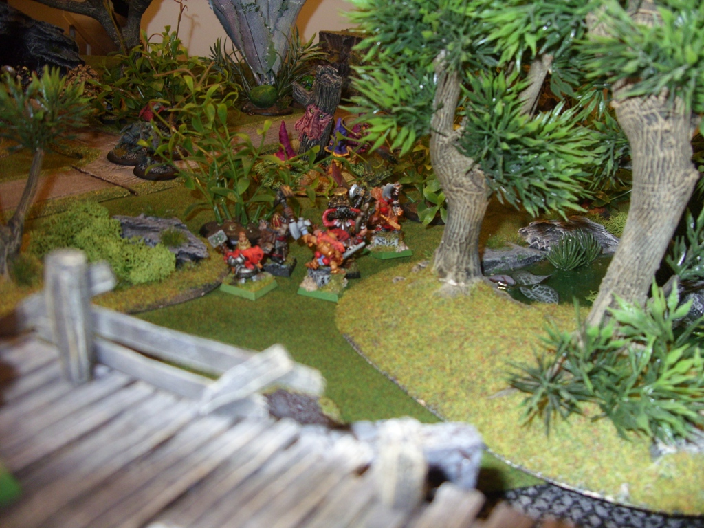Three way Mordheim battle: A stroll in the park SDC18347