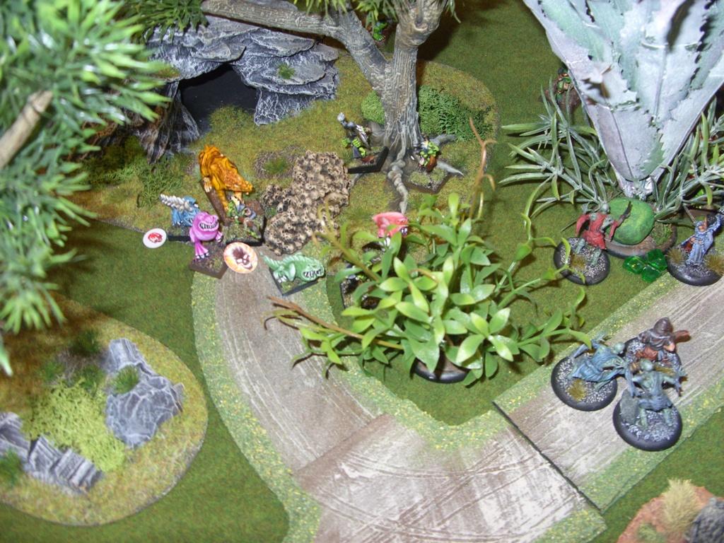 Three way Mordheim battle: A stroll in the park SDC18350