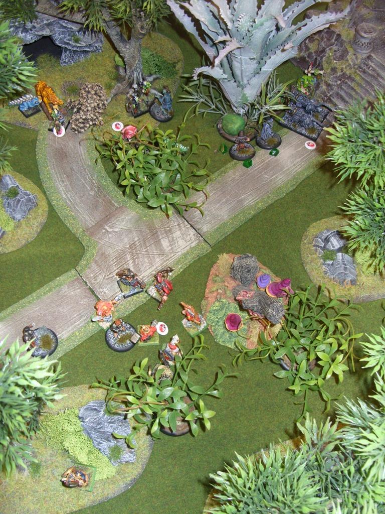 Three way Mordheim battle: A stroll in the park SDC18351