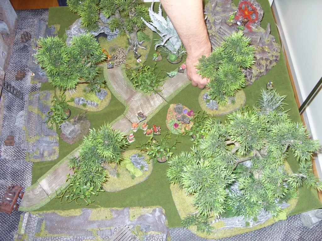Three way Mordheim battle: A stroll in the park SDC18352
