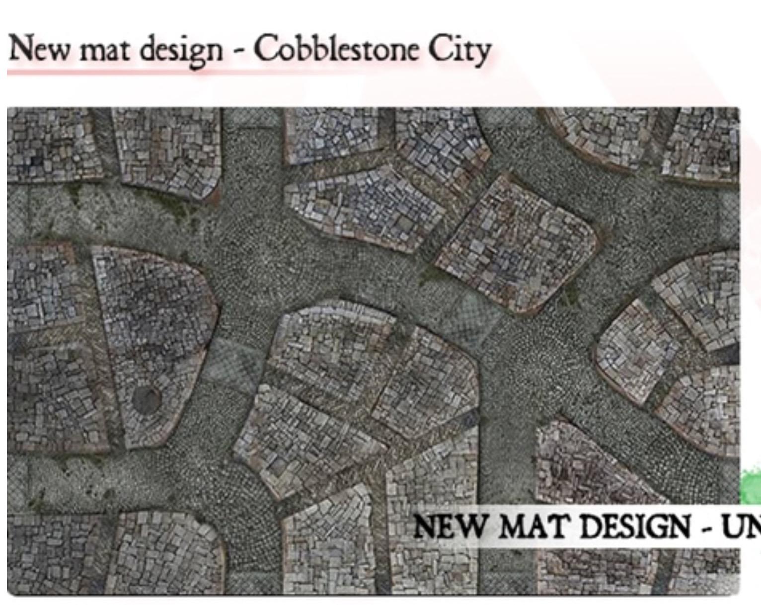 Kickstarter with excellent cobbl stone mat Image