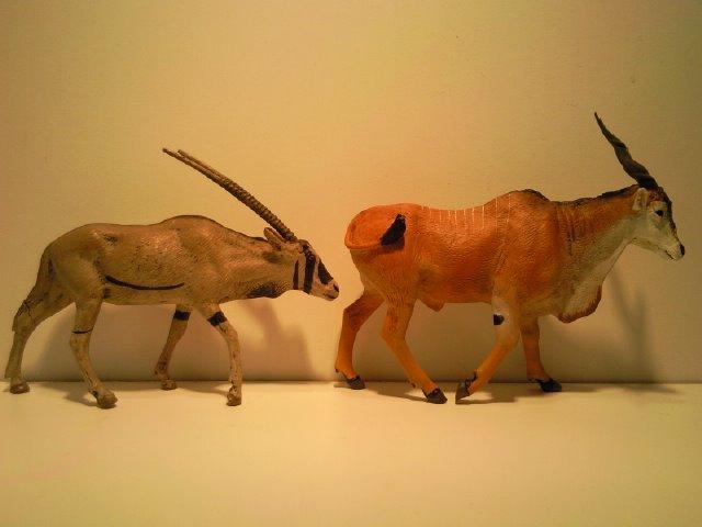 2 New Figurines from Ana for June 2011! Lineol_Oryx_en_Anas_Elandantilope_1
