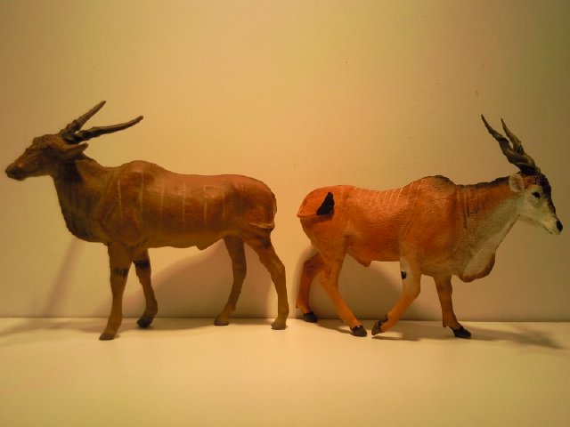 2 New Figurines from Ana for June 2011! Lineol_en_Anas_Elandantilopen_1