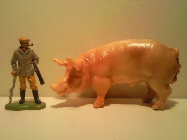 Willy's Schleich additions...  13217_Schleich_Varkensbeer_G_1991_2003_1