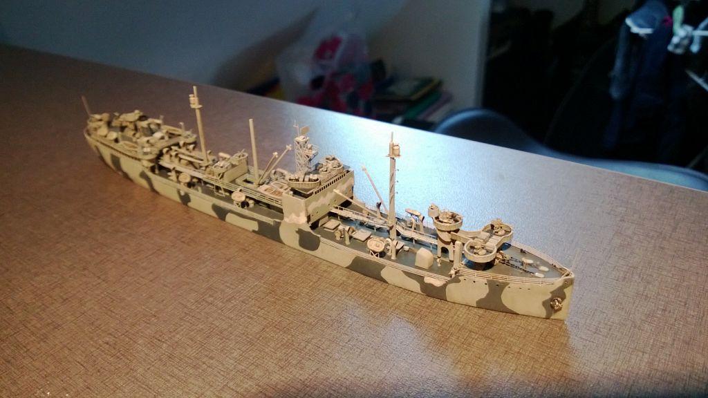 Pétrolier US - 1/700 - USS Maumee - Niko Models -  0AY34FZDd