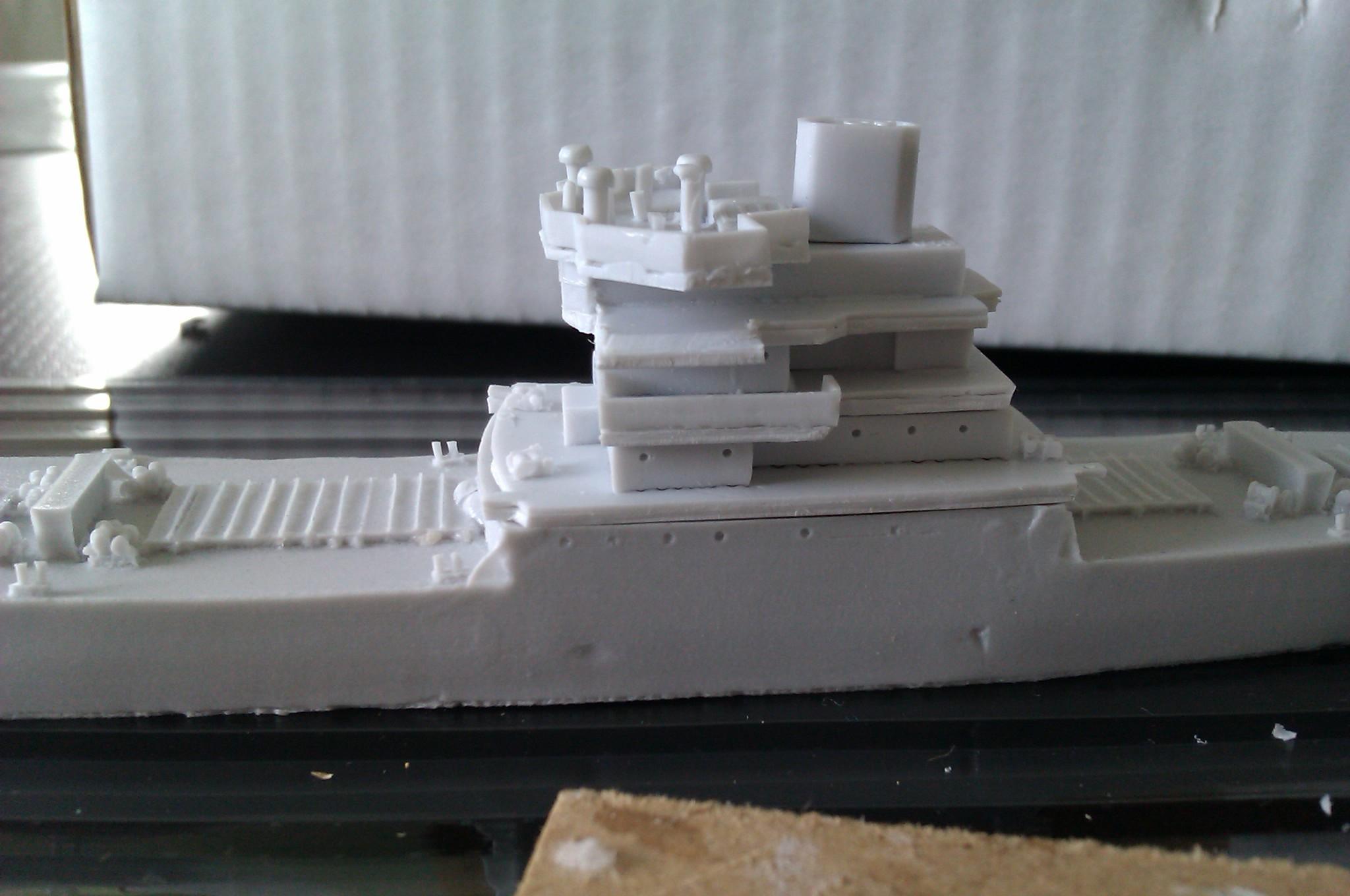 USS Thurston 1/700 à partir du kit Armerican scout de Loose cannon 5OBbqau