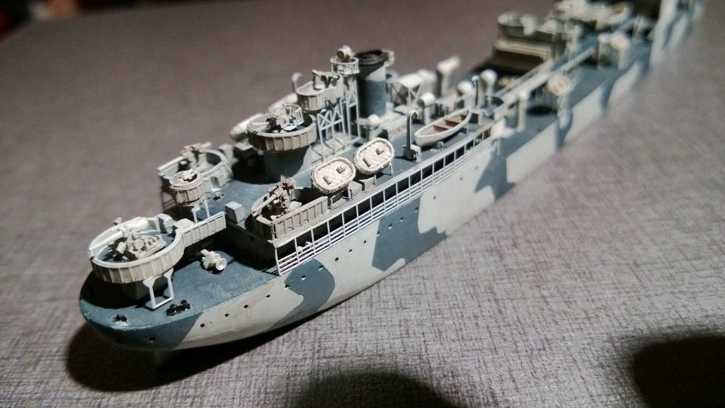 Pétrolier US - 1/700 - USS Maumee - Niko Models -  AjxNMOY