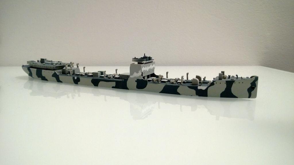 Pétrolier US - 1/700 - USS Maumee - Niko Models -  IkiNuU