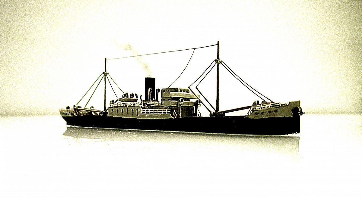 Cargo anglais ou US 1930 - 1/700 - WSW LedtRz