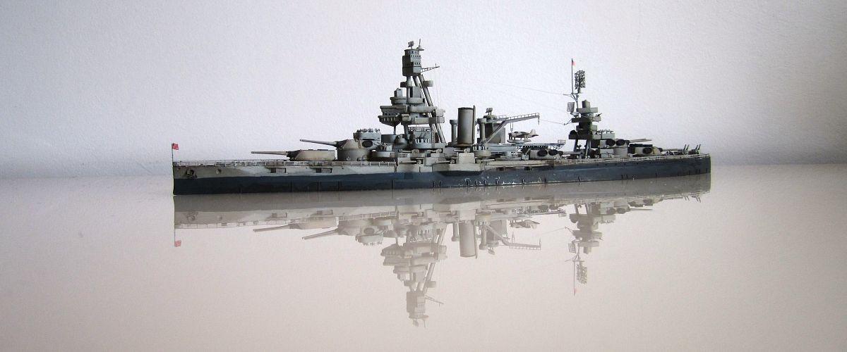 USS Texas (BB-35) -  Samek - 1/700 OYole