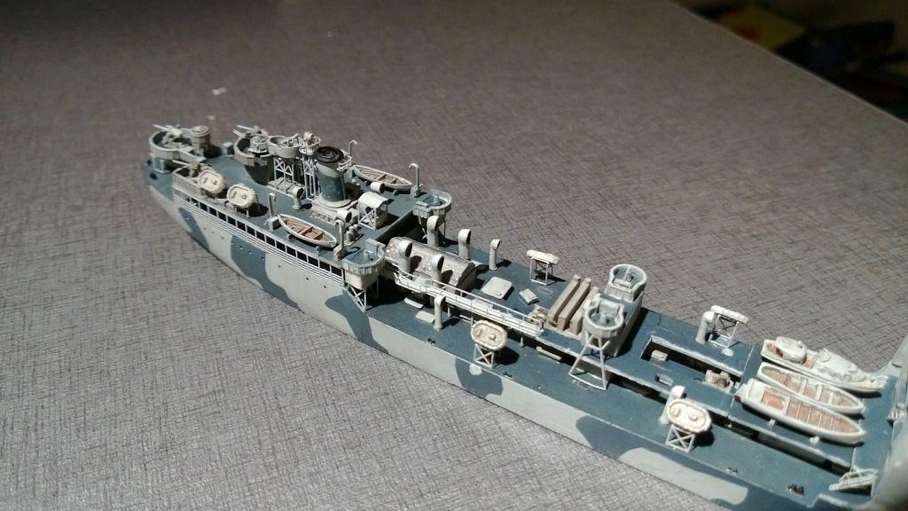 Pétrolier US - 1/700 - USS Maumee - Niko Models -  QdFDixHU