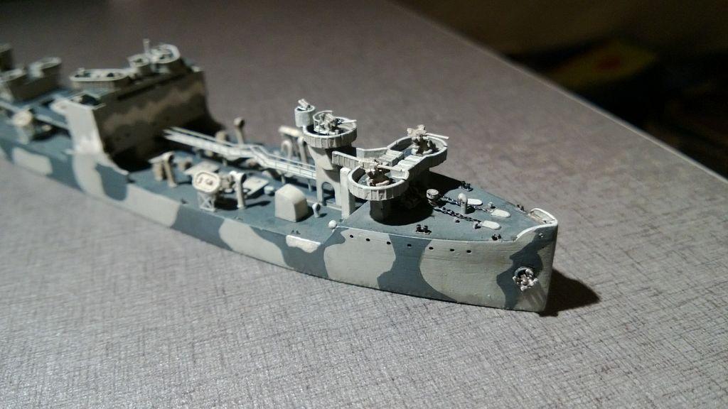 Pétrolier US - 1/700 - USS Maumee - Niko Models -  Qtd14unTID