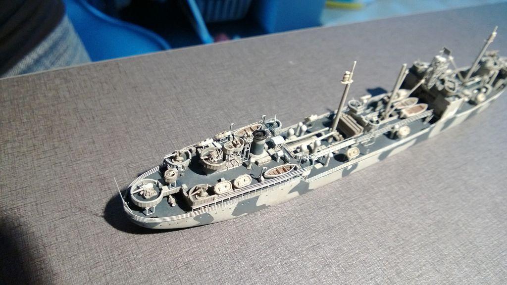 Pétrolier US - 1/700 - USS Maumee - Niko Models -  UAjHMdYy