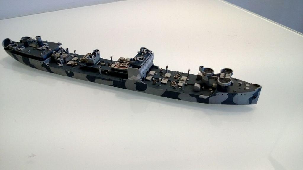 Pétrolier US - 1/700 - USS Maumee - Niko Models -  AokpjStLM