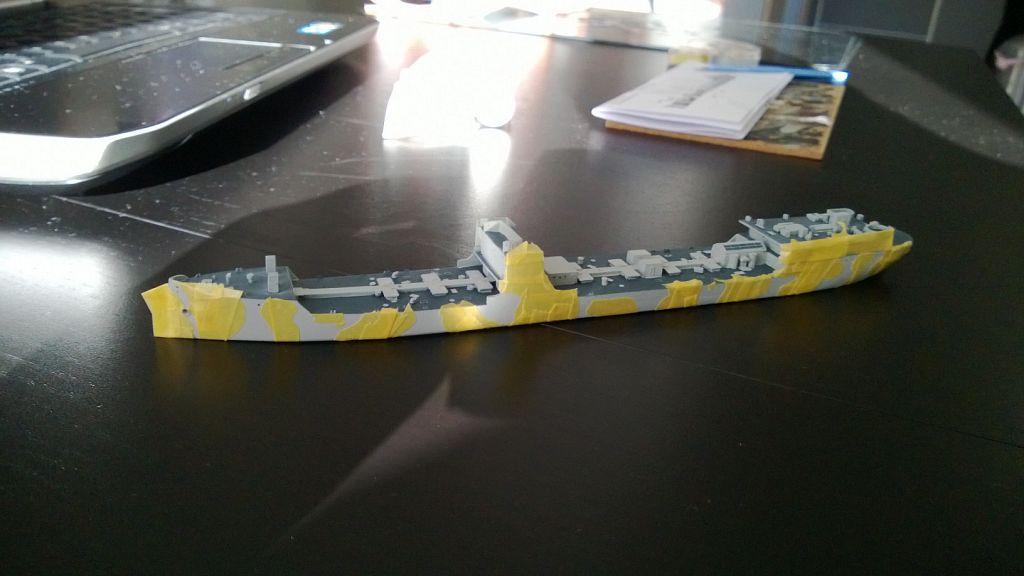 Pétrolier US - 1/700 - USS Maumee - Niko Models -  D5OubGKM4