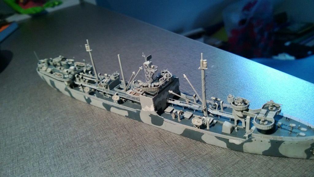 Pétrolier US - 1/700 - USS Maumee - Niko Models -  DBWDv0C