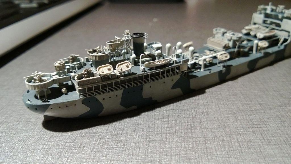 Pétrolier US - 1/700 - USS Maumee - Niko Models -  EomfPkHK2