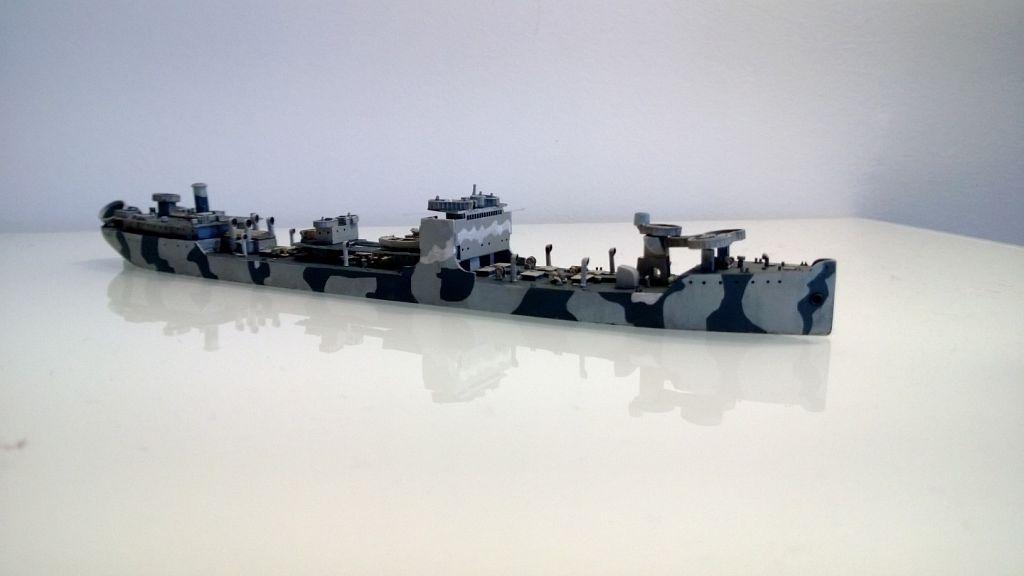 Pétrolier US - 1/700 - USS Maumee - Niko Models -  NCYyG