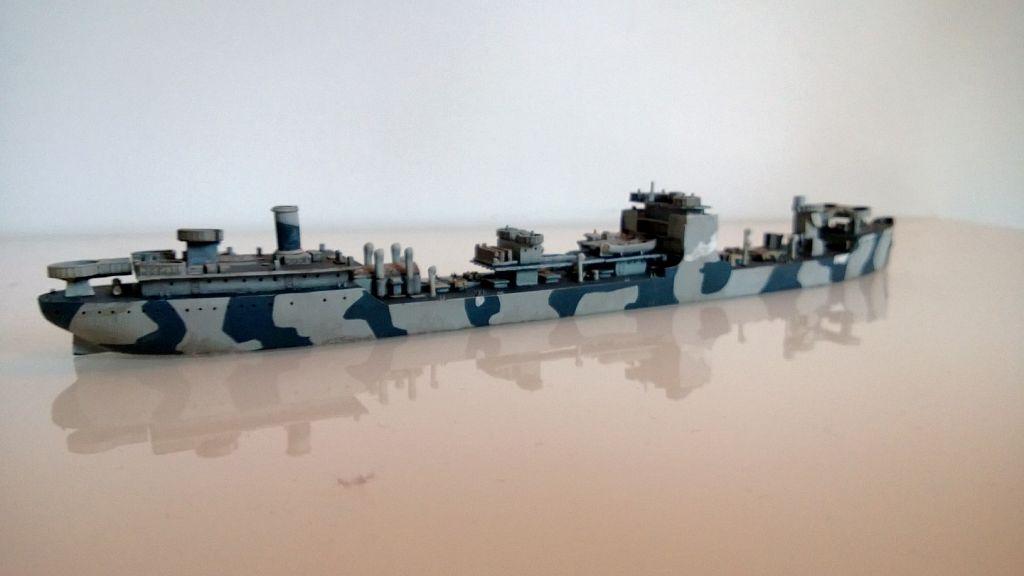 Pétrolier US - 1/700 - USS Maumee - Niko Models -  O5lV4mD0
