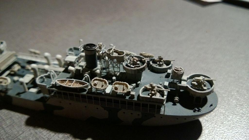 Pétrolier US - 1/700 - USS Maumee - Niko Models -  Sjmz6a