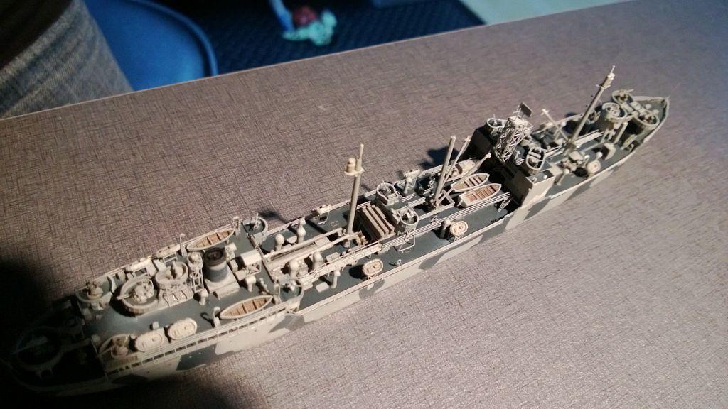 Pétrolier US - 1/700 - USS Maumee - Niko Models -  WQhzpJ