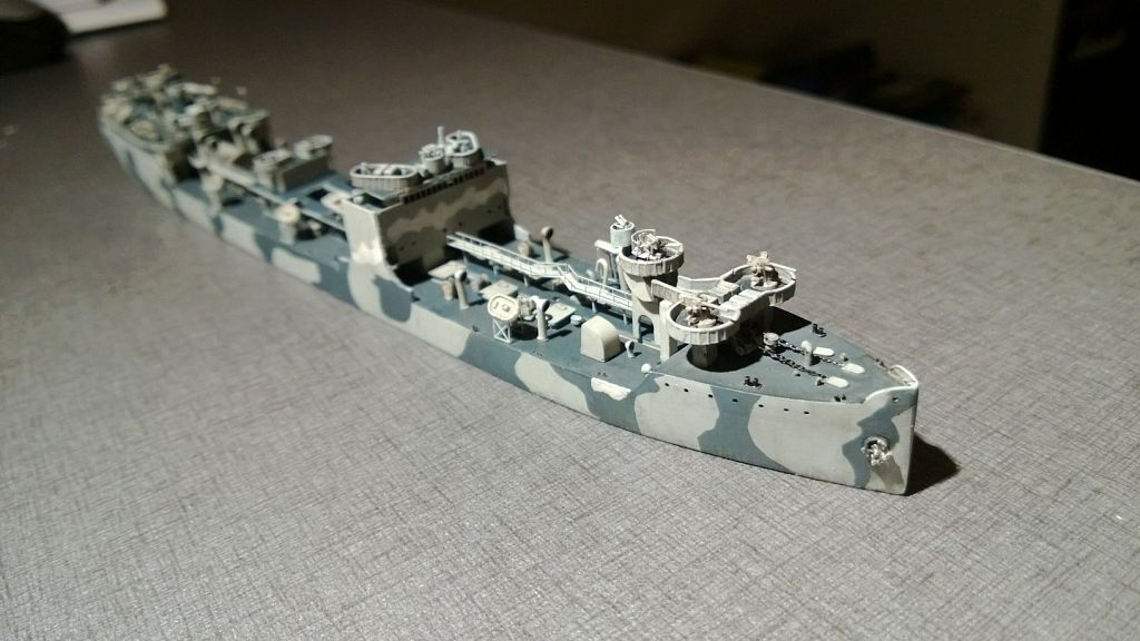Pétrolier US - 1/700 - USS Maumee - Niko Models -  WuF7JXT