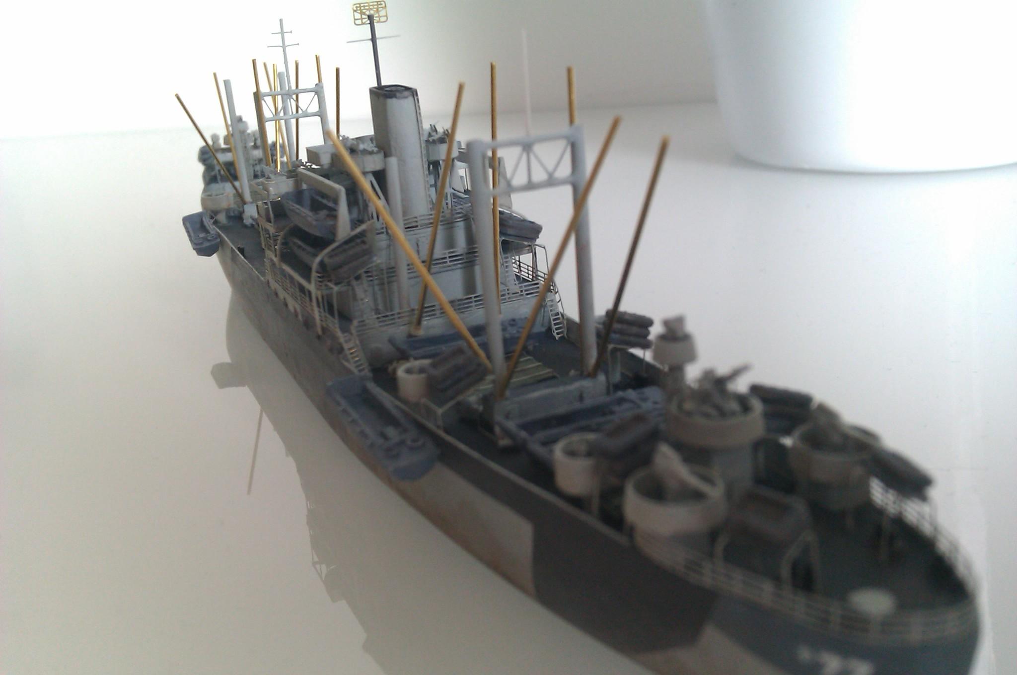 USS Thurston 1/700 à partir du kit Armerican scout de Loose cannon GRneCrwc