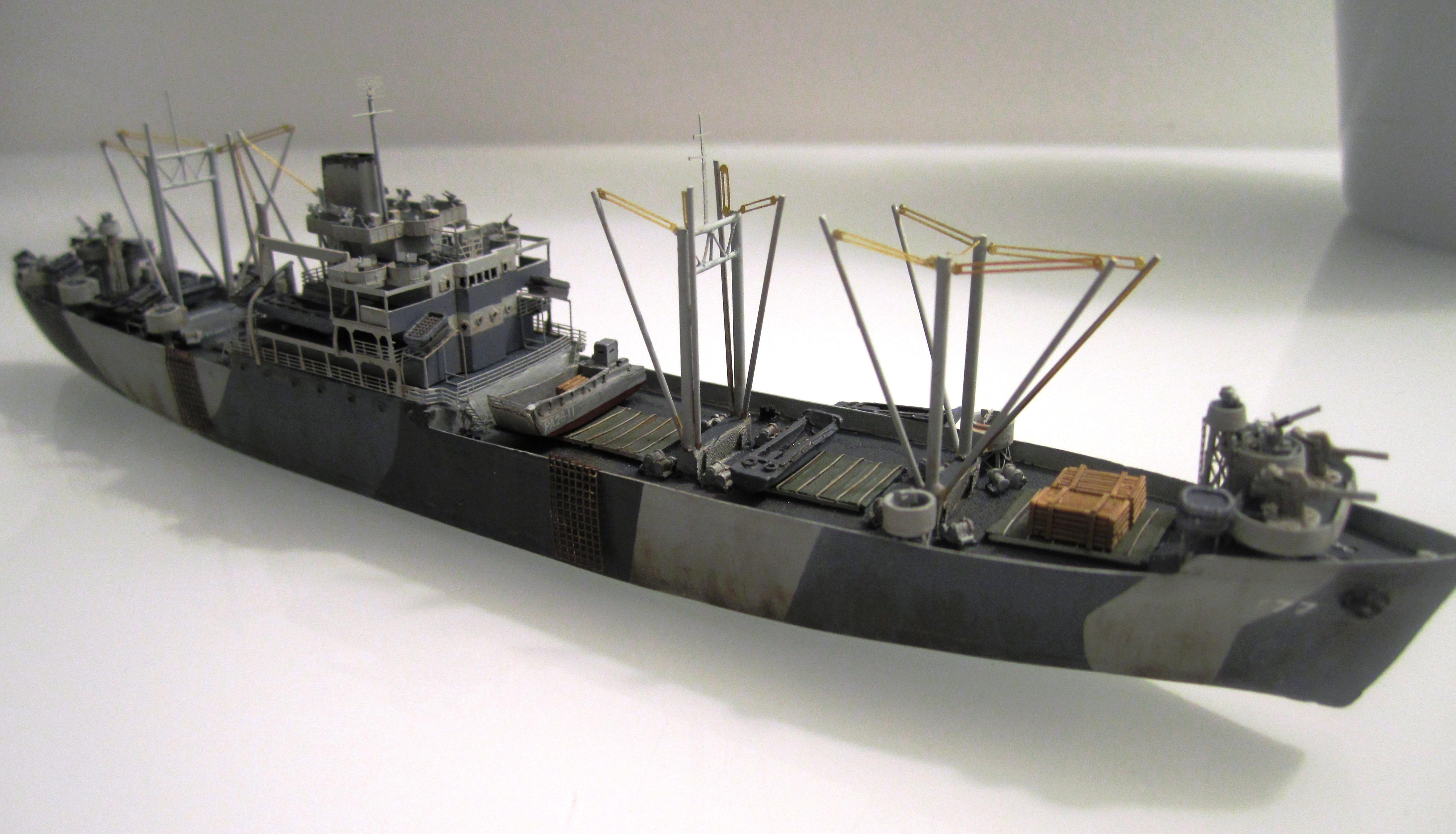 USS Thurston 1/700 à partir du kit Armerican scout de Loose cannon Li0xb16tD