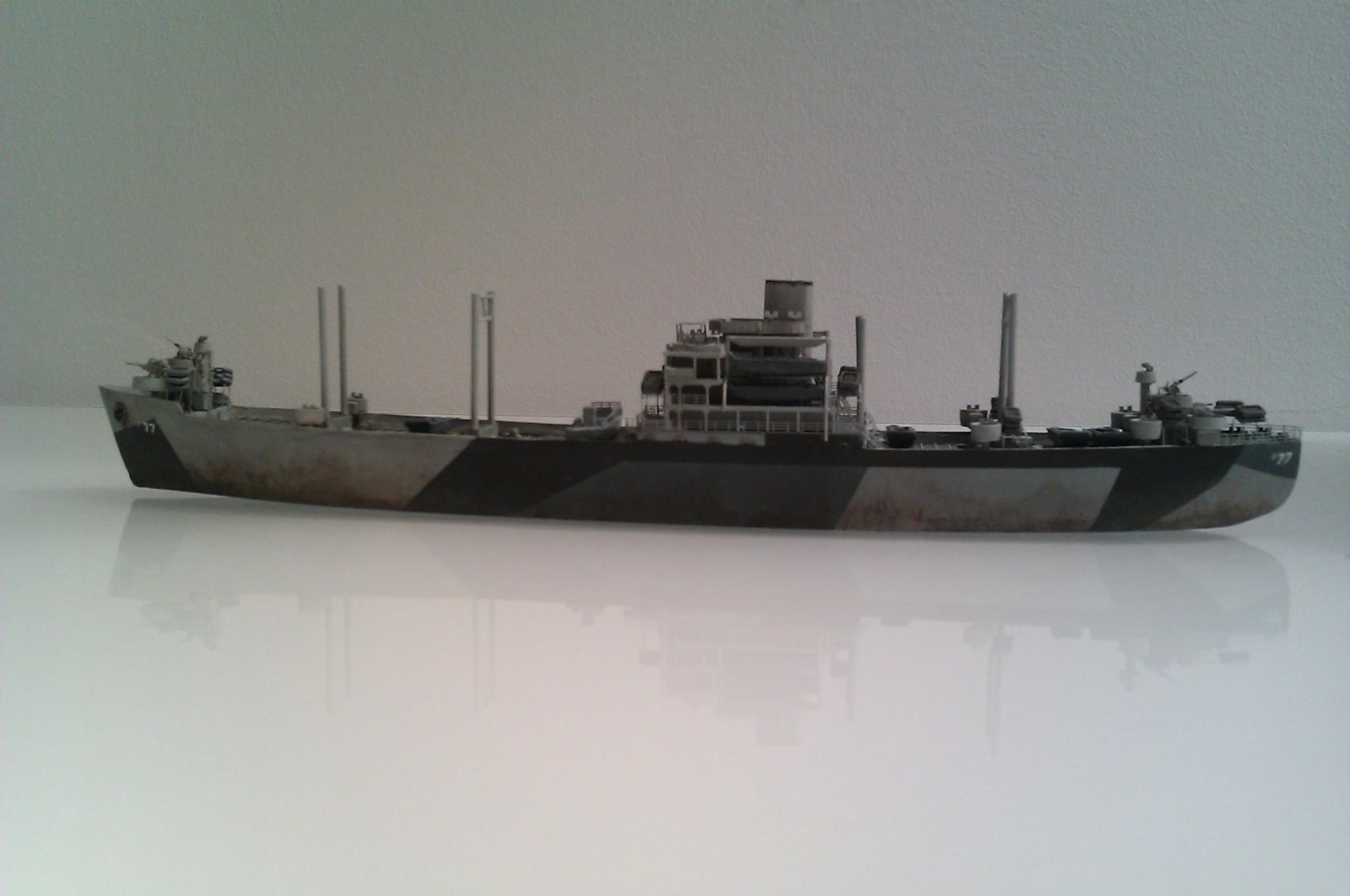 USS Thurston 1/700 à partir du kit Armerican scout de Loose cannon OBZTS