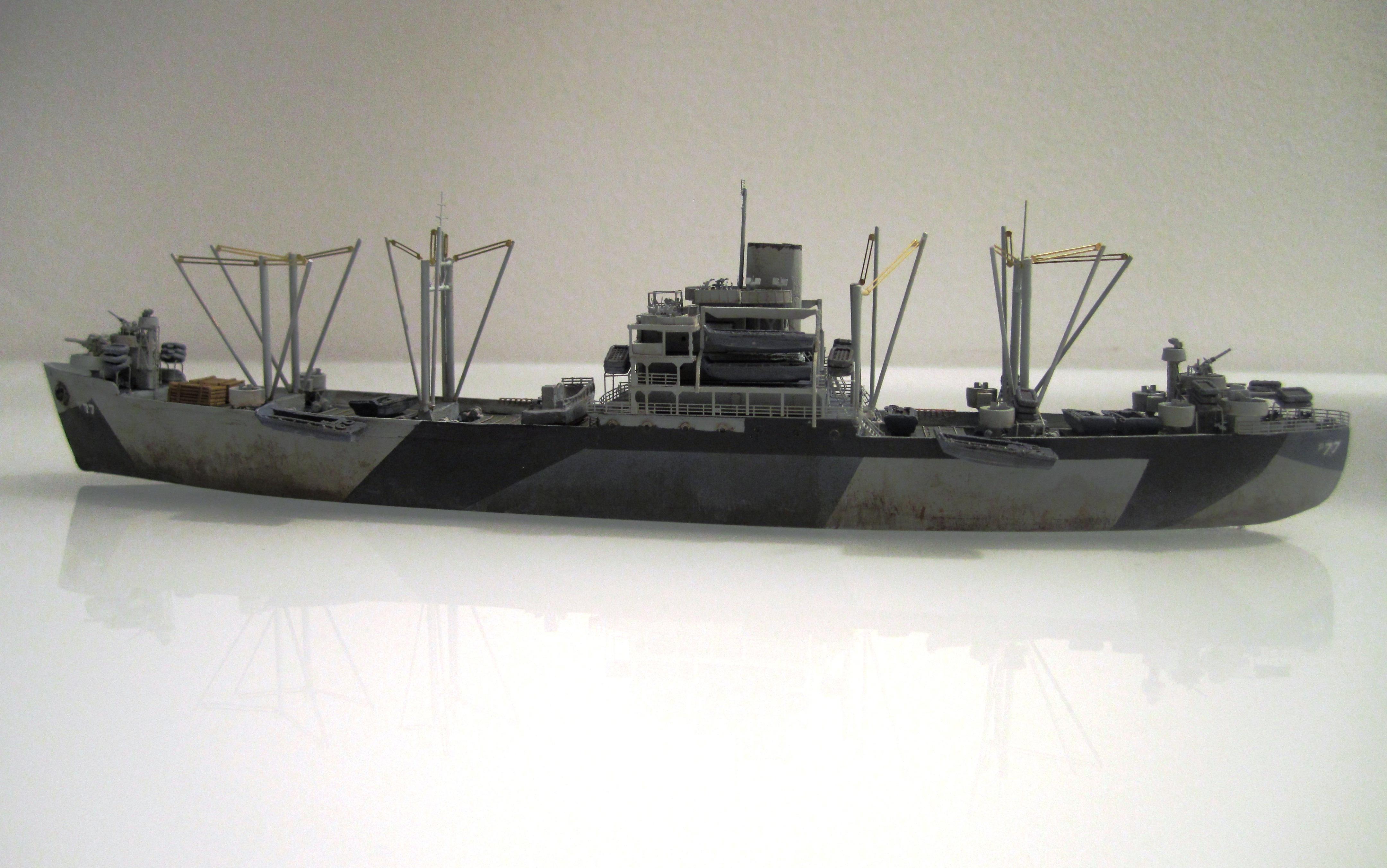 USS Thurston 1/700 à partir du kit Armerican scout de Loose cannon WqJZsE8Sb