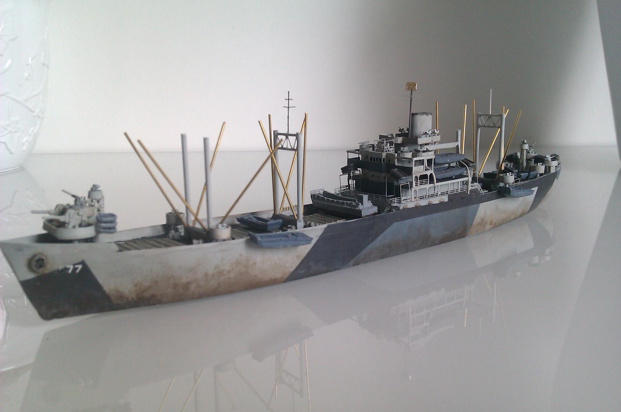 USS Thurston 1/700 à partir du kit Armerican scout de Loose cannon ZRmrqG8c5h