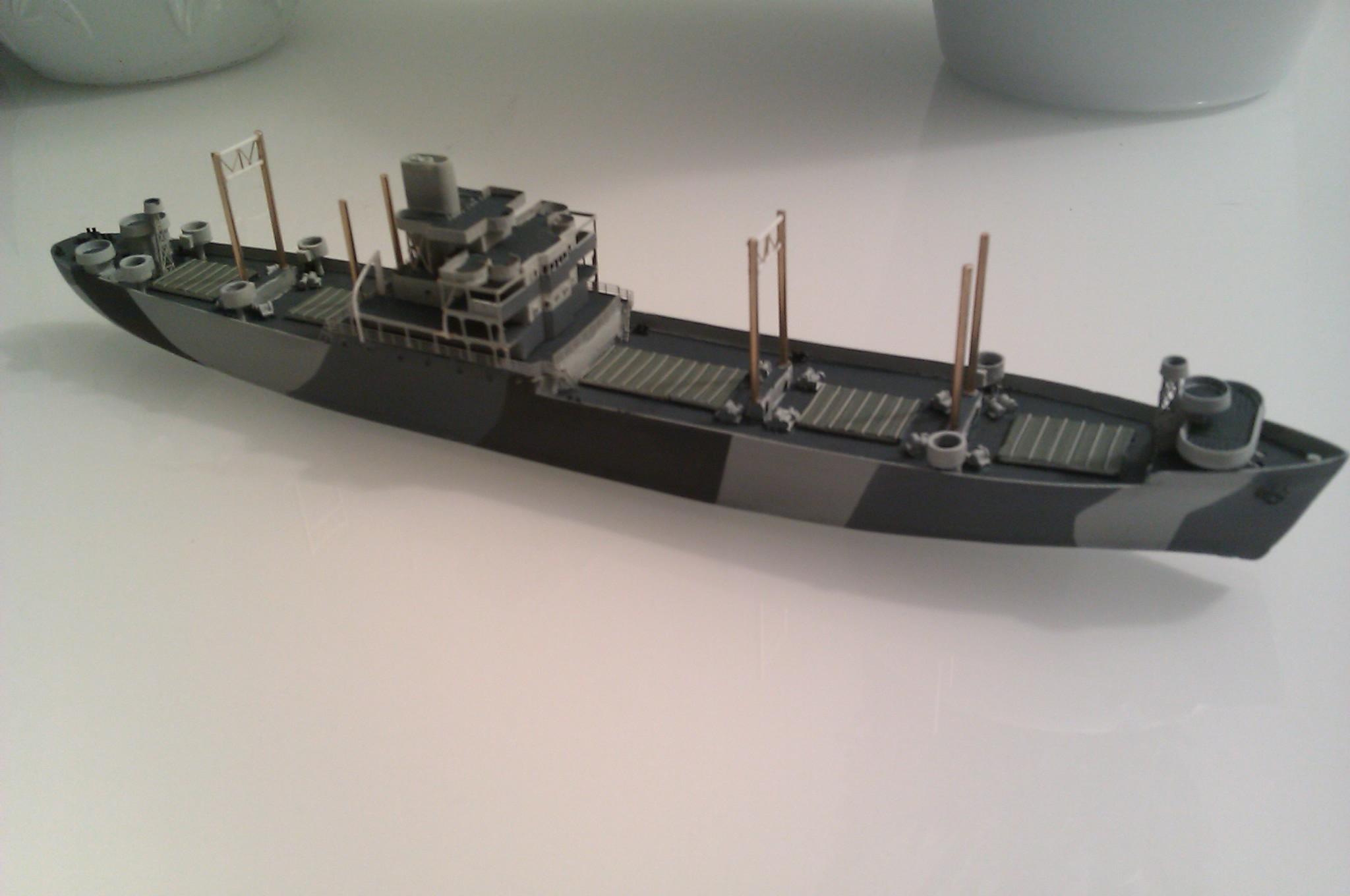 USS Thurston 1/700 à partir du kit Armerican scout de Loose cannon CTzP