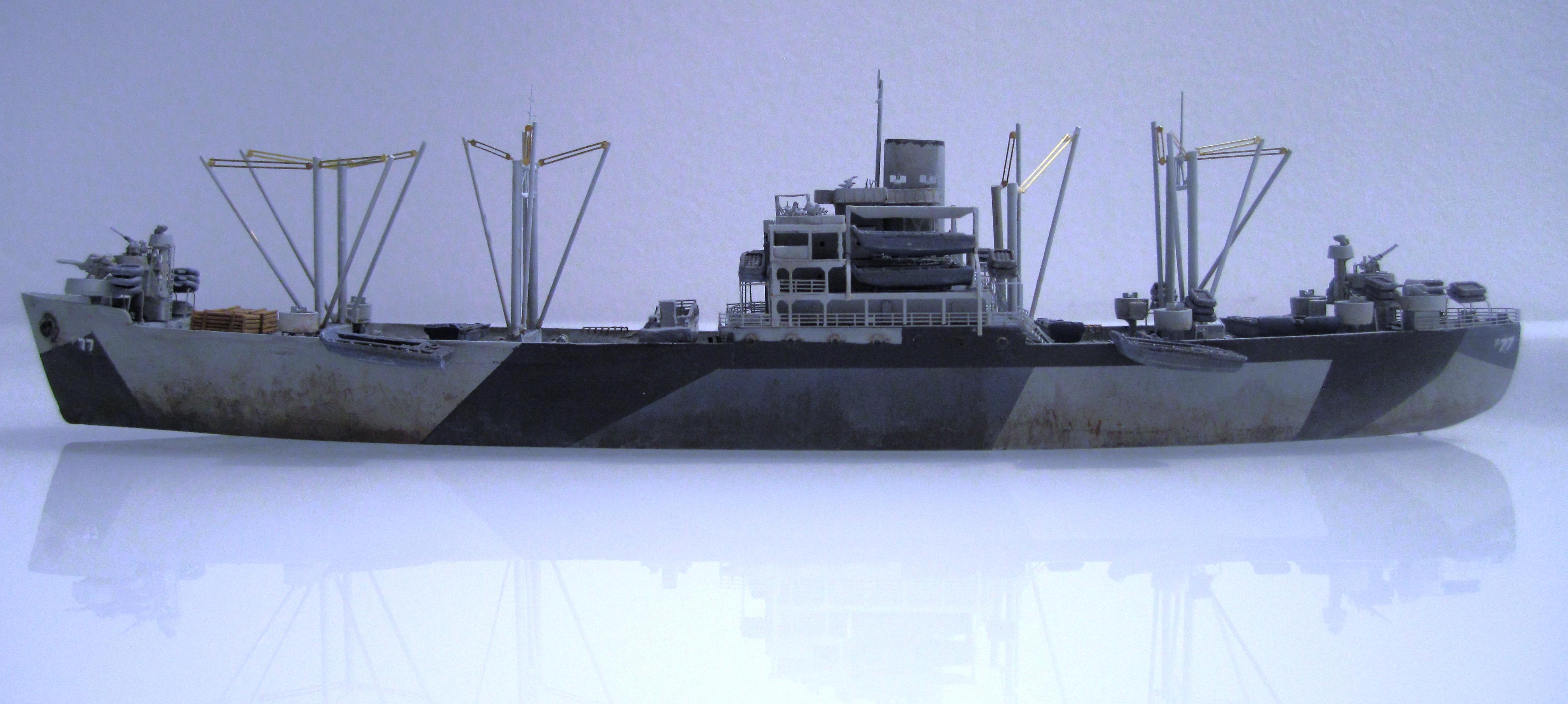 USS Thurston 1/700 à partir du kit Armerican scout de Loose cannon K3vbyMoc