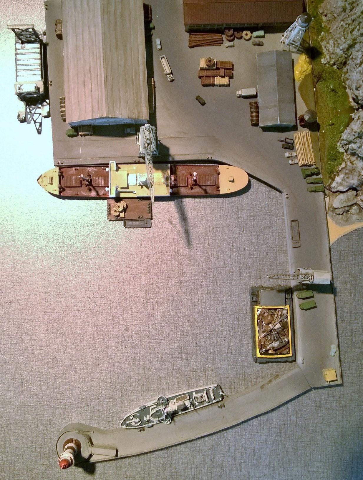Diorama base navale 1/700 par Nesquik - Page 3 TNCZH