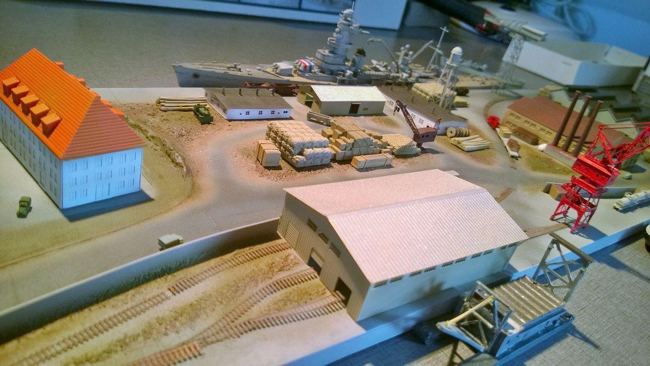 Diorama base navale 1/700 par Nesquik - Page 4 IekcQ