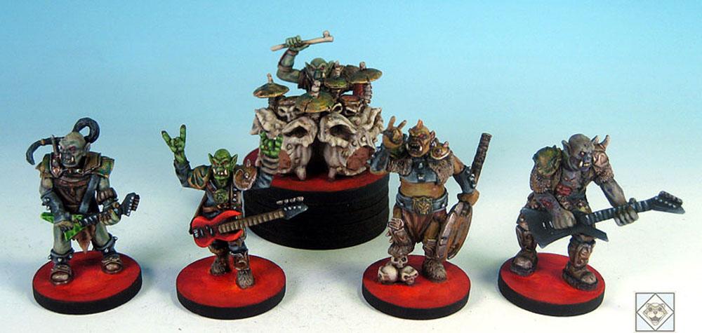 Orc Warband??? Orc ROCKBAND!!!!! Abandoforcs