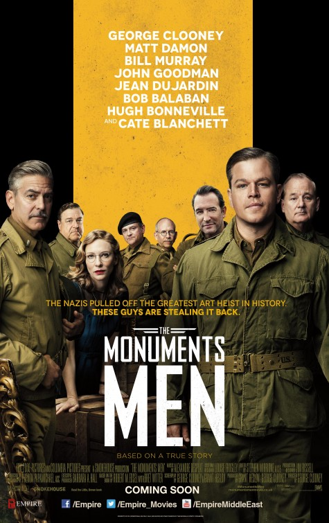 "FILM >> ""The Monuments Men"" (George Clooney) Monuments_men_ver2"