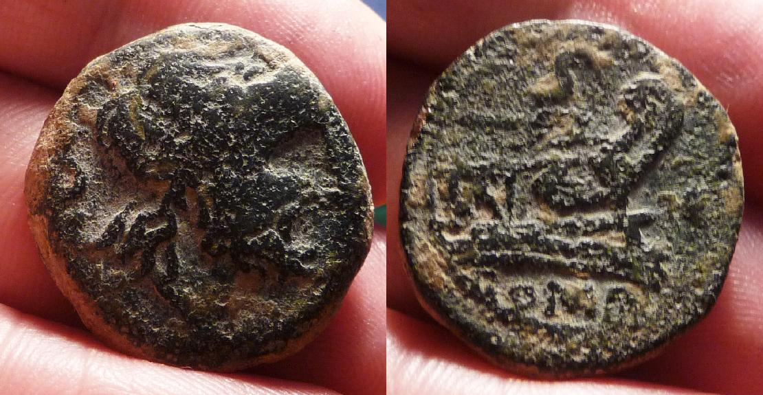 Semis Republicano de imitación hispánica, siglo II AC. Janou10